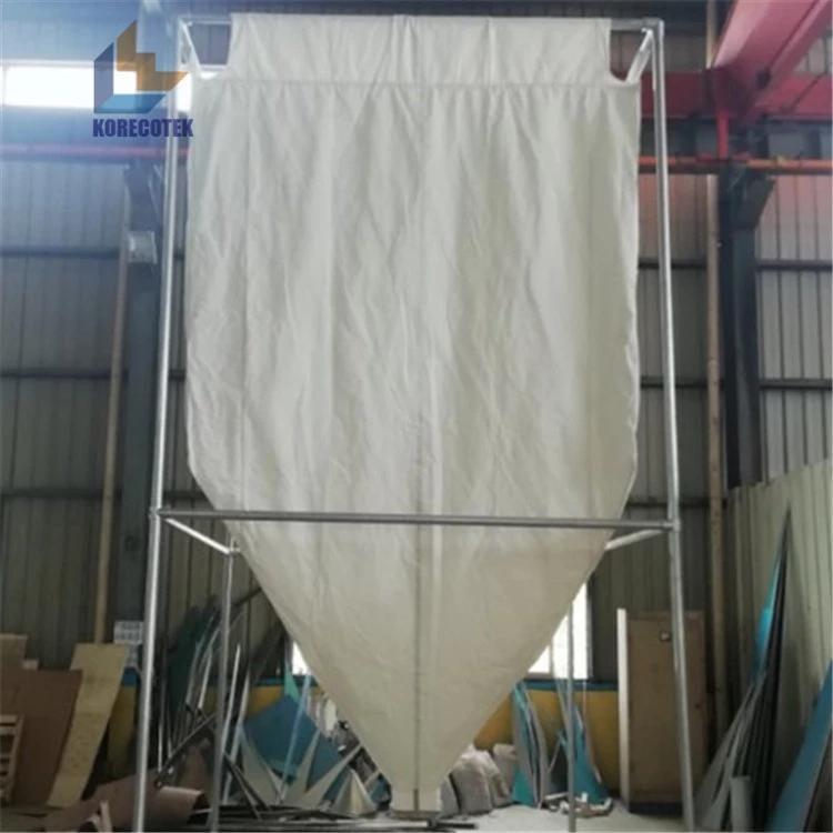 10 ton fabric silo for grain  2