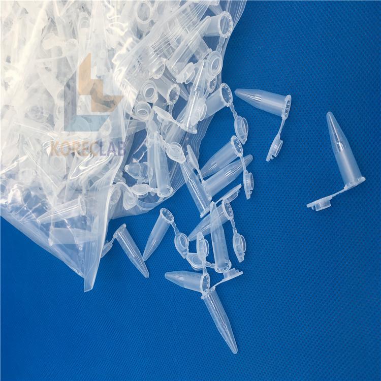 1.5ml plastic polypropylene dna free microcentrifuge tubes 3
