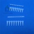 PCR tube 8 strips flat cap