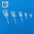Lab Scoop Shape Glass Weighing Funnels