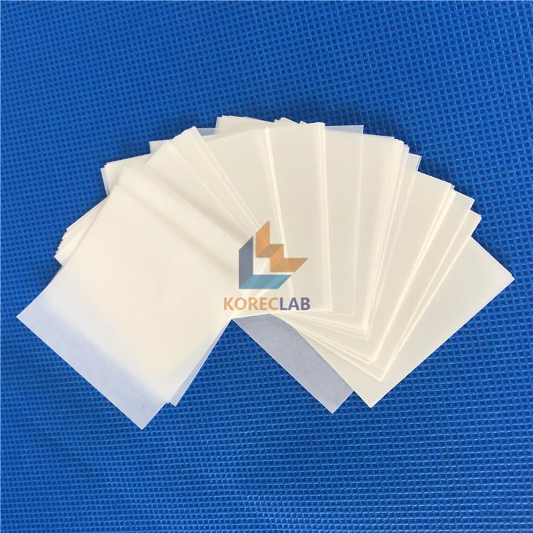 6X6 Inch (152x152mm) lownitrogen non absorbing high gloss cellulose weigh paper 1