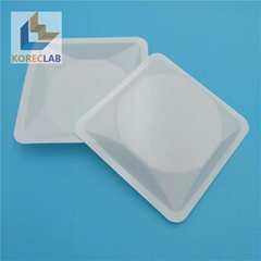 Laboratory Digital Weighing Scale Plastic Square Large Size Weighing Boats