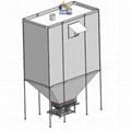 简便灵活柔性高性能散装物料存储织物料仓 2