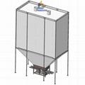 简便灵活柔性高性能散装物料存储织物料仓 3