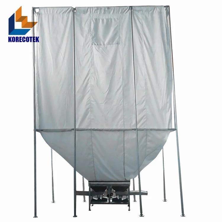 简便灵活柔性高性能散装物料存储织物料仓 4