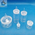 Laboratory glass with Stopper Cylindrical Low Form Weighing Bottles 4