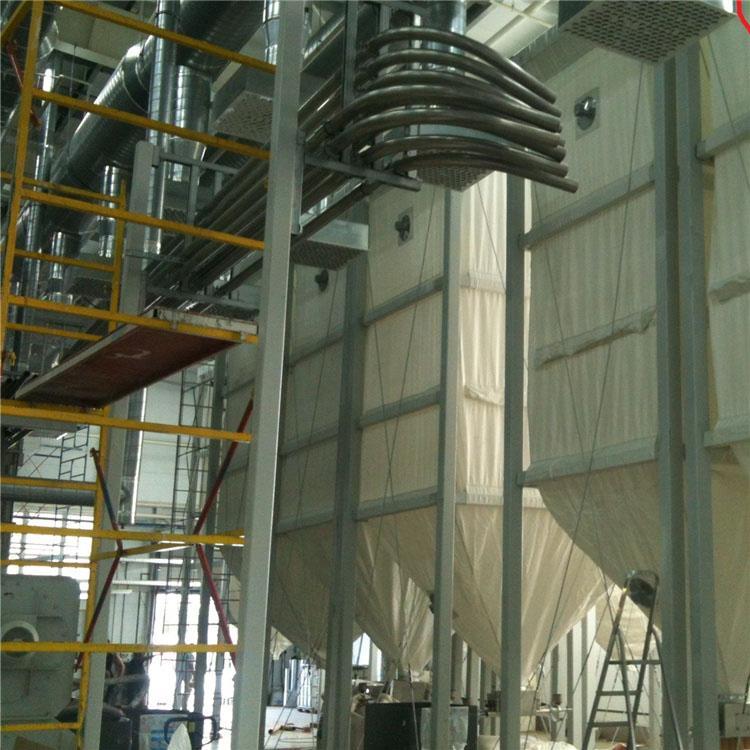Customized 50m3 plastic molding factory flexible pellet storage silo  4