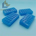 24 well lab use double  side PCR centrifuge test tubes rack 4