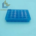 24 well lab use double  side PCR centrifuge test tubes rack 5
