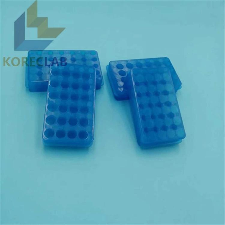 24 well lab use double  side PCR centrifuge test tubes rack 2