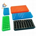 24 well lab use double  side PCR centrifuge test tubes rack 1