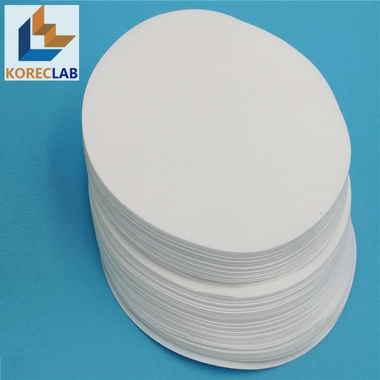 lab use round ashless filter paper