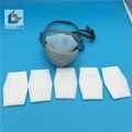 Reusable long life KN95 4ply face respirator mask