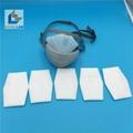 Reusable long life KN95 4ply face respirator mask