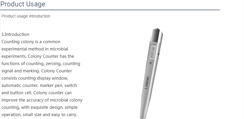 Laboratory Colony Counting Pen Lab Colony Counter Pen 3