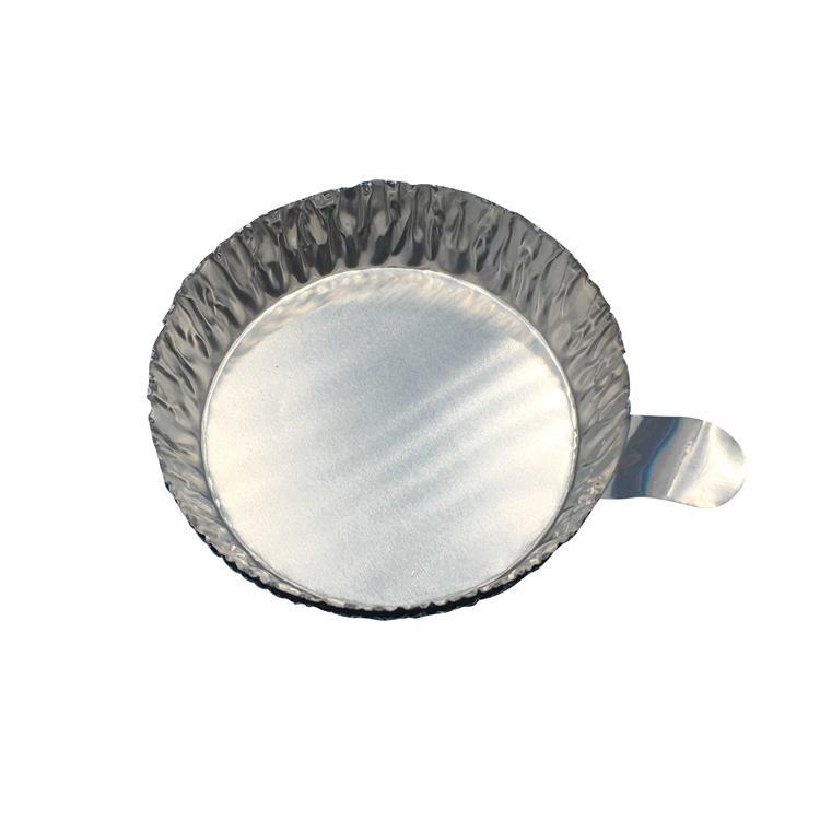 帶手柄鋁制稱量盤 鋁箔稱量盤 稱量舟 稱量皿 小小號 100只/包 1