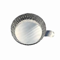 帶手柄鋁制稱量盤 鋁箔稱量盤 稱量舟 稱量皿 小小號 100只/包