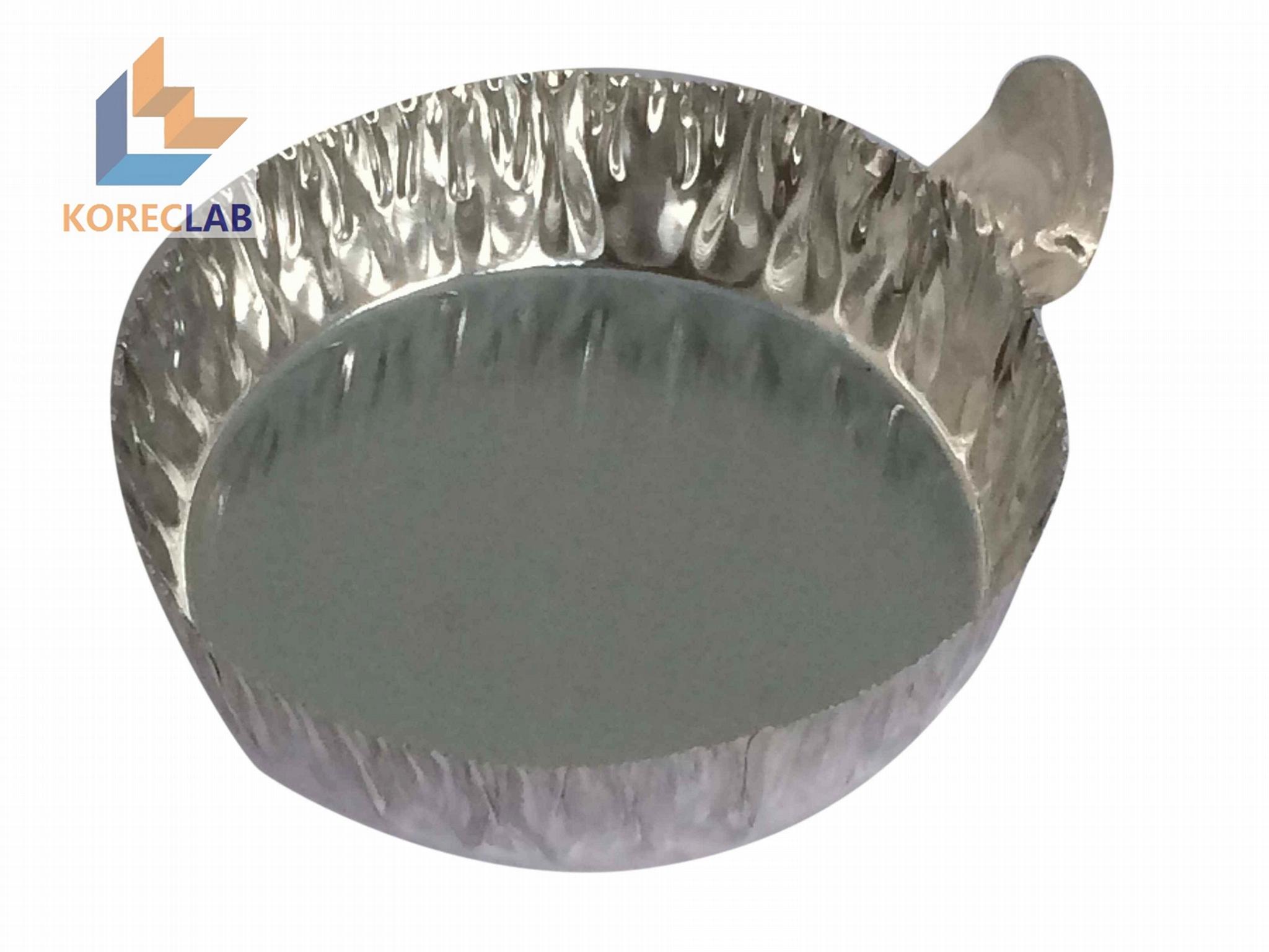 帶手柄鋁制稱量盤 鋁箔稱量盤 稱量盤 稱量皿 大號 4