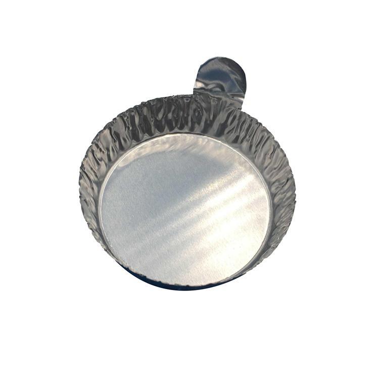 帶手柄鋁制實驗稱量盤 鋁箔稱量盤 稱量盤 稱量皿 小號 100只/包 3