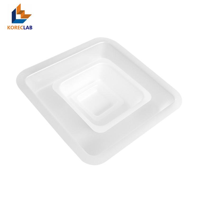 250ml 正四方形塑料稱量皿 稱量碟 稱量船 2