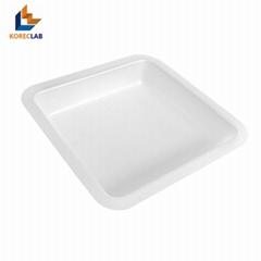 250ml 正四方形塑料稱量皿 稱量碟 稱量船