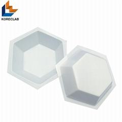Hexagonal Plastic Coat Epoxy Mixing Dishes Mixing Boats Mixing  Pans