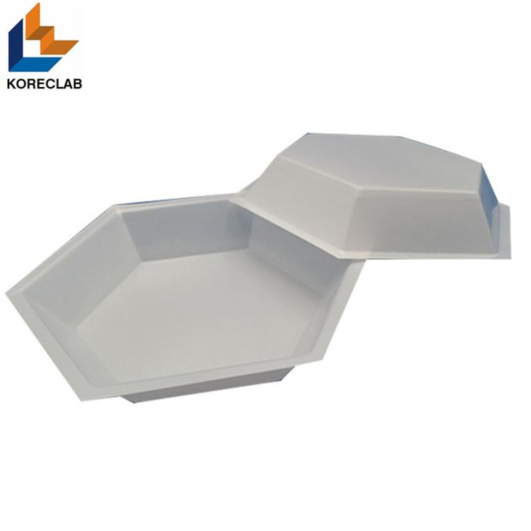 Hexagonal Plastic Weighing Dishes Weighing Boats 3