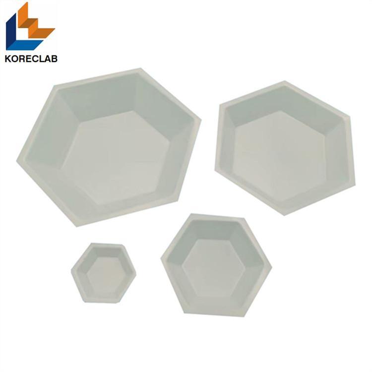 六方形塑料稱量皿 稱量碟 稱量舟 1