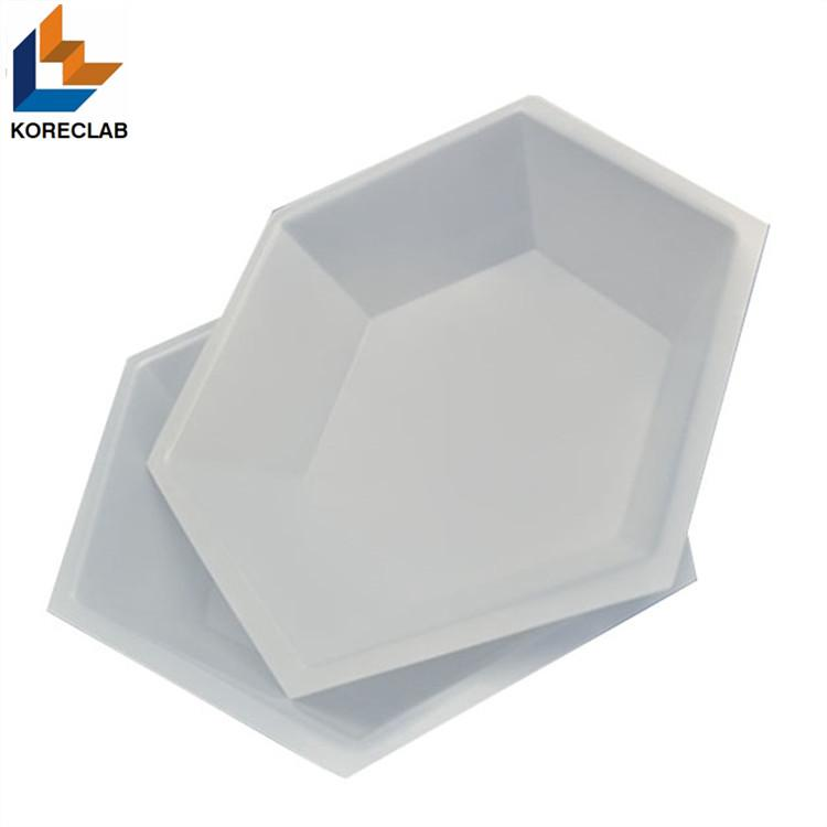 Hexagonal Plastic Weighing Dishes Weighing Boats 5
