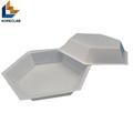 50ML Medium size Hexagonal Antistatic Plastic Polystyrene Sample Weighing Dishes 2