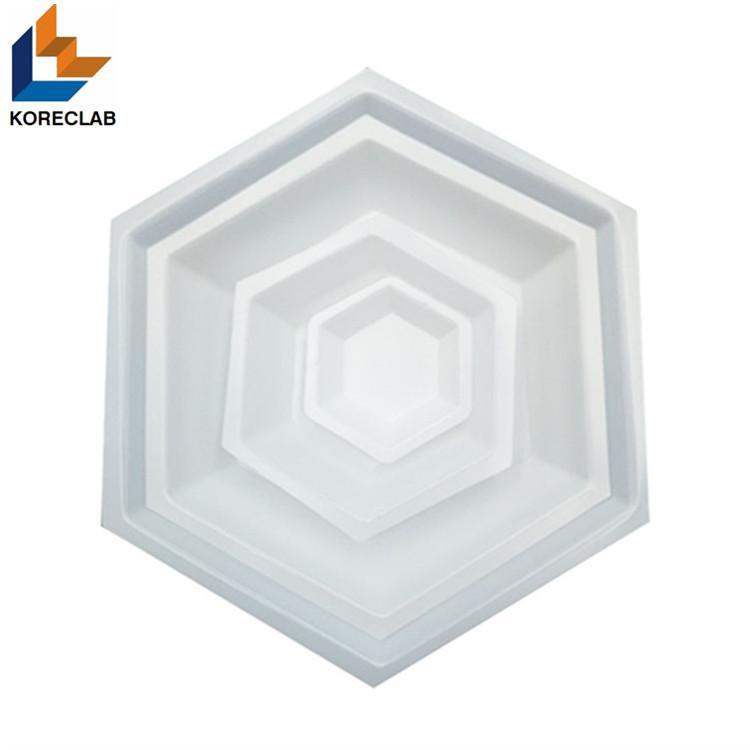 50ML Medium size Hexagonal Antistatic Plastic Polystyrene Sample Weighing Dishes 3