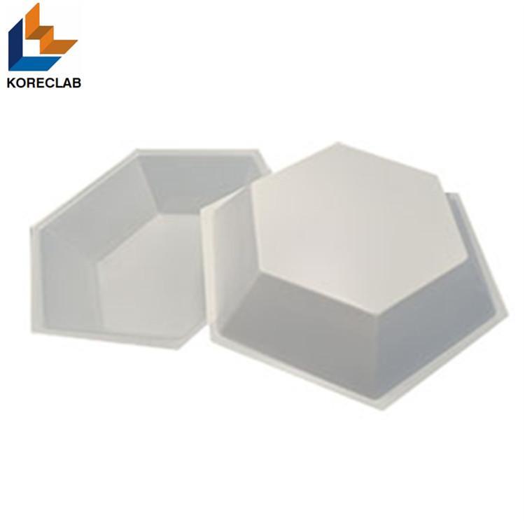 50ML Medium size Hexagonal Antistatic Plastic Polystyrene Sample Weighing Dishes 1