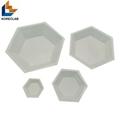 50ML Medium size Hexagonal Antistatic Plastic Polystyrene Sample Weighing Dishes 4
