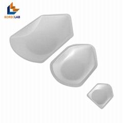 270ml large size plastic polystyrene weighing dishes/boats