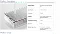 laboratory lab supplies aluminum foil heat sealing film PCR plate sealing film 4
