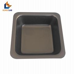 小號 黑色 正四方形塑料稱量皿 稱量碟 稱量舟