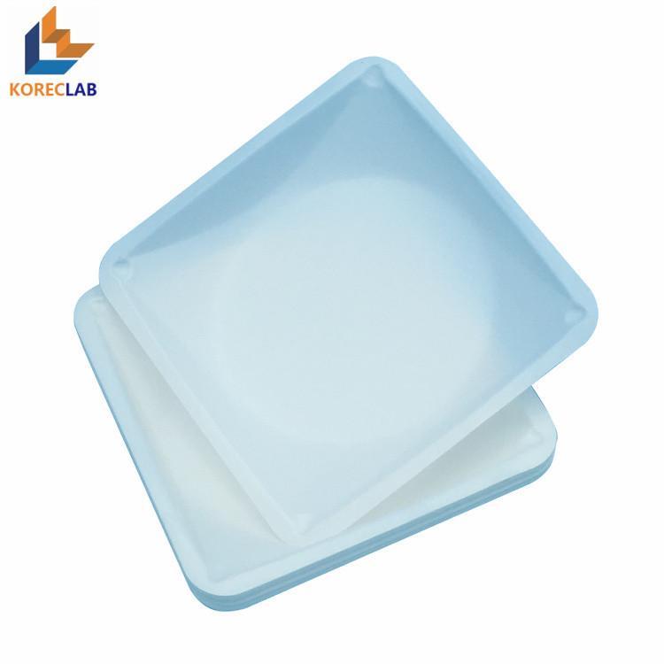 100ml 方形帶導流槽塑料稱量皿 3