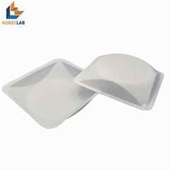 100ml 方形帶導流槽塑料稱量皿
