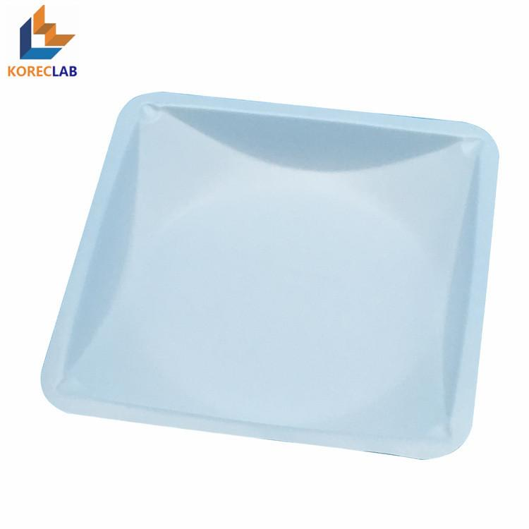 100ml 方形帶導流槽塑料稱量皿 4