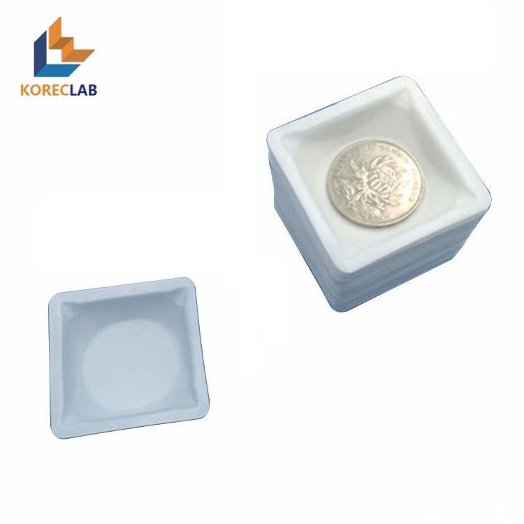 100ml 方形帶導流槽塑料稱量皿 5