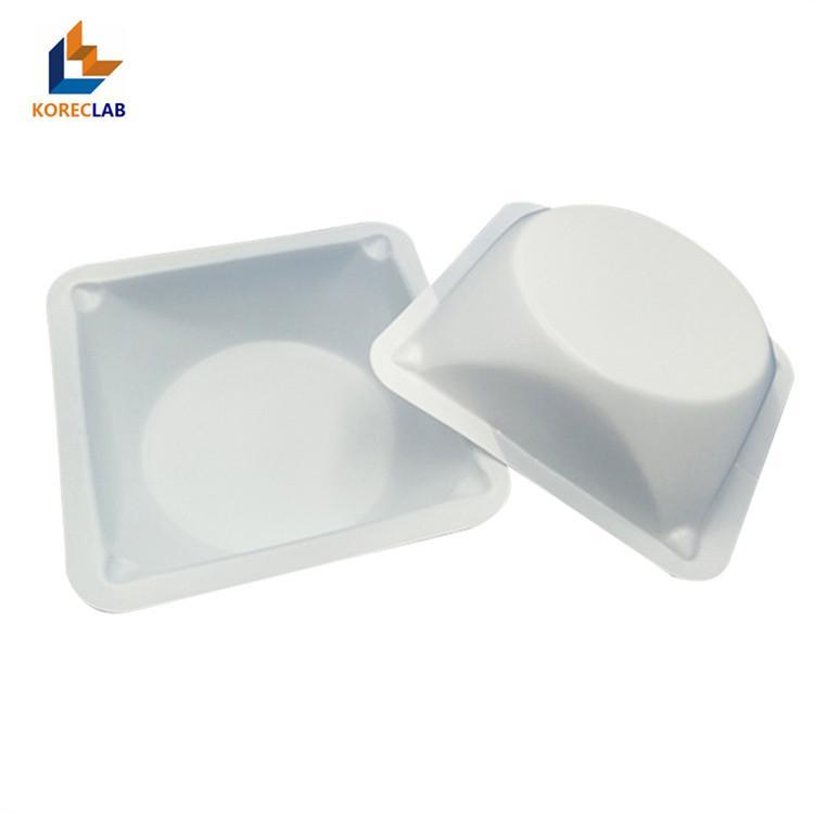 100ml 方形帶導流槽塑料稱量皿 6