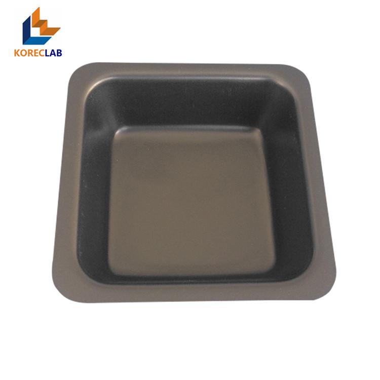 100ml 黑色正四方形塑料稱量皿 稱量碟 稱量舟 1