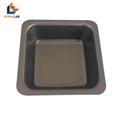 100ML Black Medium Size Plastic Flat
