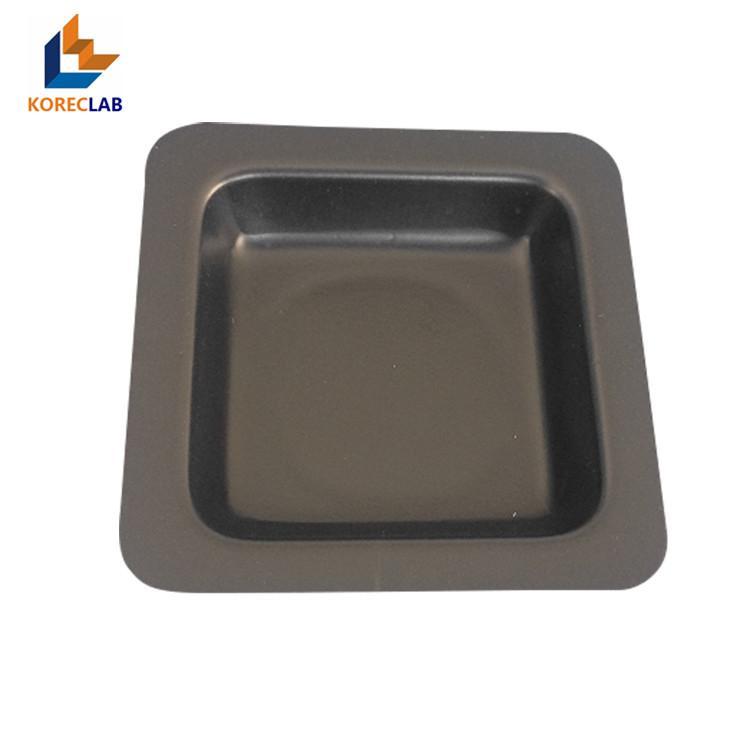 100ml 黑色正四方形塑料稱量皿 稱量碟 稱量舟 3