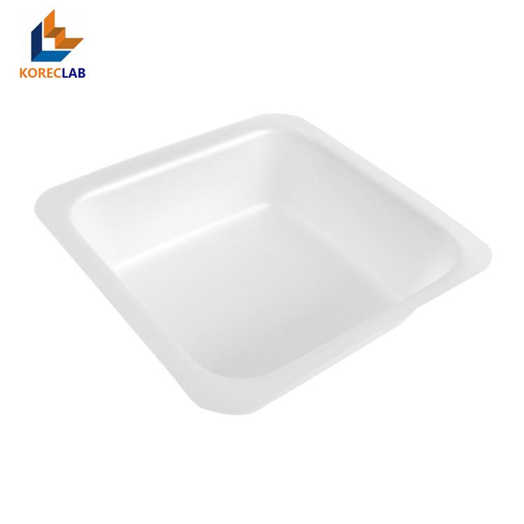 Shallow Flat Square Polystyrene Weighing Dish weighing Boats 3