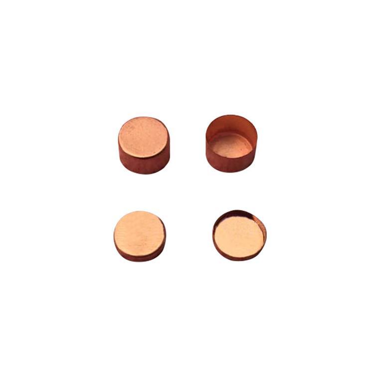 Copper crucible Cu pan for gravimetric thermal analysis TGA and DSC analyzer 1