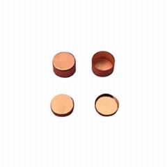 Copper crucible Cu pan for gravimetric thermal analysis TGA and DSC analyzer