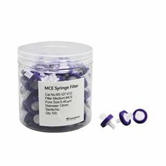 Lab Medical Syringe Filters13mm Disposable  Syringe Filter MCE Film