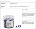 Lab Medical Syringe Filters13mm Disposable  Syringe Filter MCE Film 2