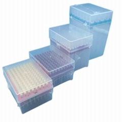 Lab Consumable in Sealed Rack Sterile Long Type 10ul Micro Pipette Filter Tips (Hot Product - 1*)